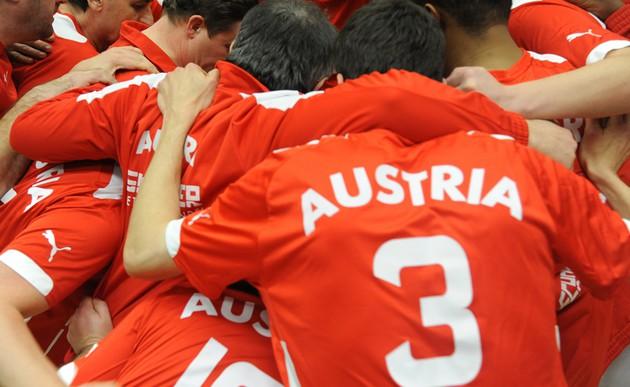 Österreichs Team für die Fußball-EM der Priester