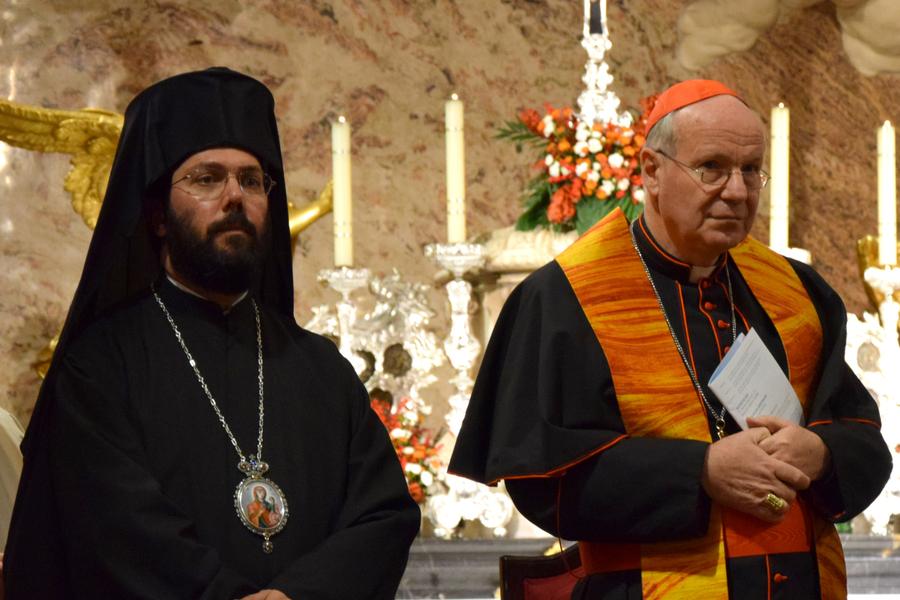 Metropolit Arsenios (Kardamakis), Kardinal Christoph Schönborn